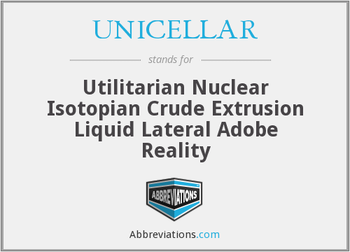 What does UNICELLAR stand for?