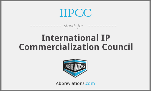 What does IIPCC stand for?