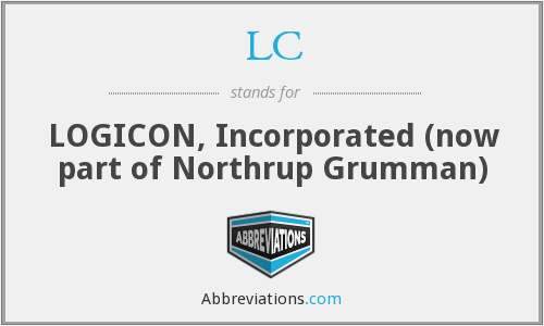 LC - LOGICON, Incorporated  (now part of Northrup Grumman)