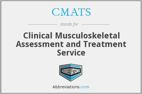 What does CMATS stand for?