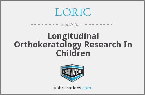 What does LORIC stand for?