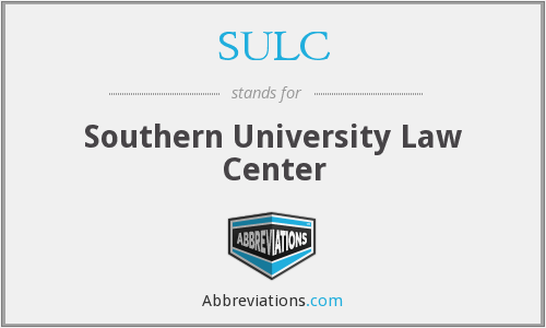 What does SULC stand for?