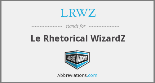 What does LRWZ stand for?