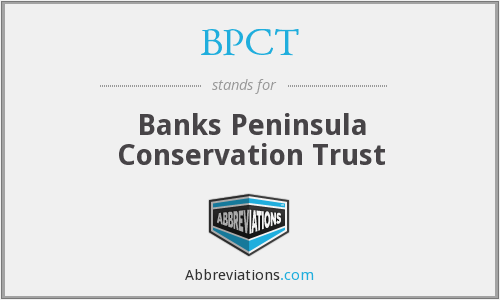 What does BPCT stand for?