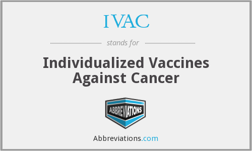 IVAC - Individualized Vaccines Against Cancer