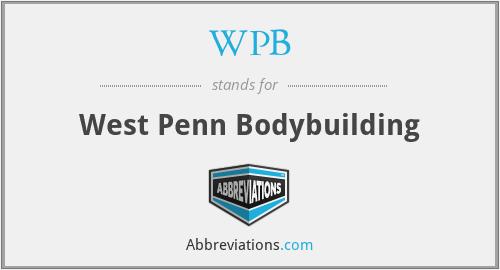 WPB - West Penn Bodybuilding