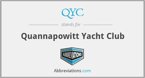 QYC - Quannapowitt Yacht Club