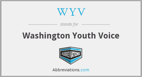 WYV - Washington Youth Voice