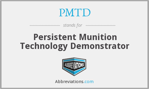 What does PMTD stand for?