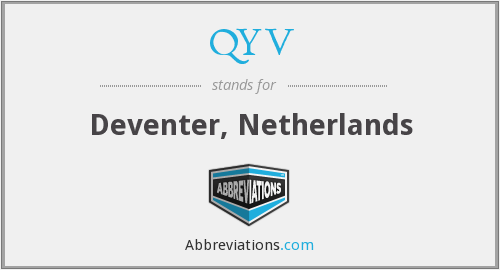 QYV - Deventer, Netherlands