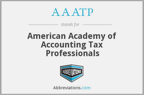 AAATP - American Academy of Accounting Tax Professionals