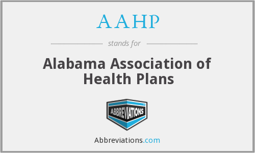 AAHP - Alabama Association of Health Plans