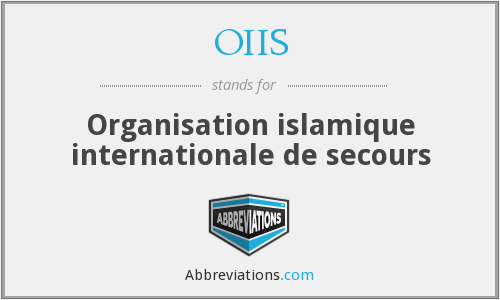 What does OIIS stand for?