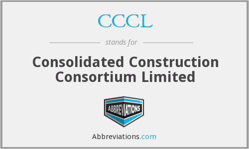 CCCL - Consolidated Construction Consortium Limited