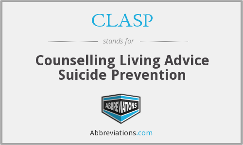 CLASP - Counselling Living Advice Suicide Prevention