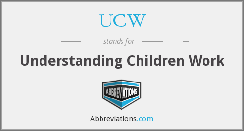 UCW - Understanding Children Work