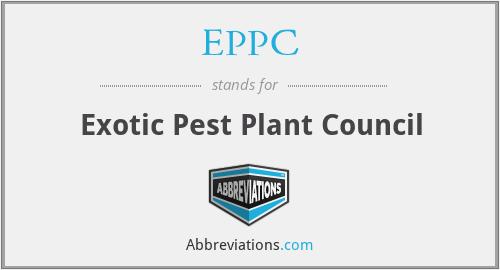 EPPC - Exotic Pest Plant Council