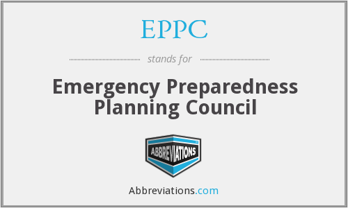 EPPC - Emergency Preparedness Planning Council