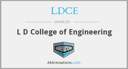 What does LDCE stand for?