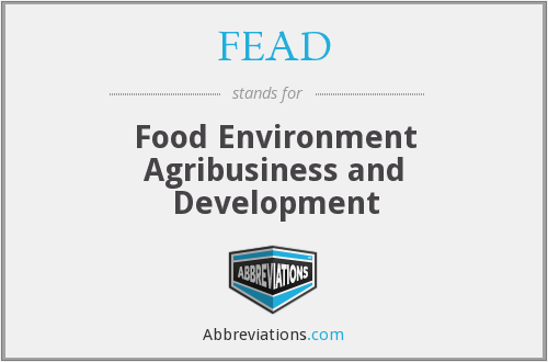 FEAD - Food Environment Agribusiness and Development