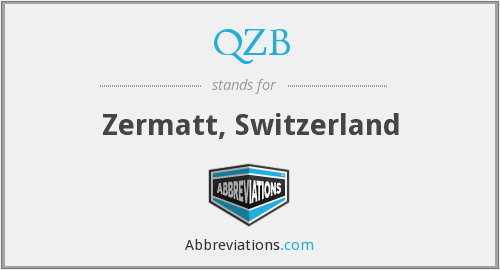 What does QZB stand for?