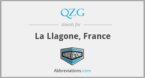 QZG - La Llagone, France