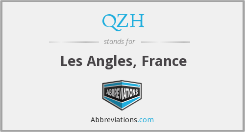 QZH - Les Angles, France