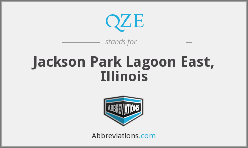 QZE - Jackson Park Lagoon East, Illinois