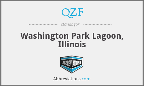 QZF - Washington Park Lagoon, Illinois