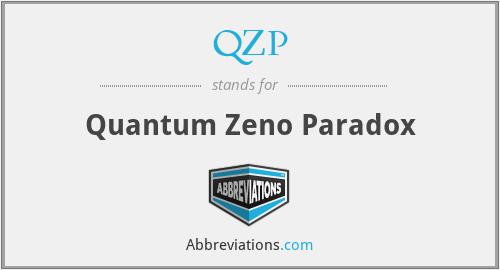 QZP - Quantum Zeno Paradox