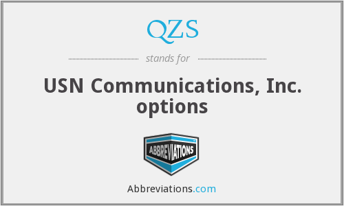 What does QZS stand for?