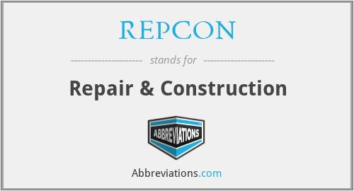 REPCON - Repair & Construction
