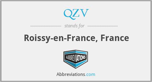 QZV - Roissy-en-France, France