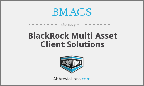 What does BMACS stand for?