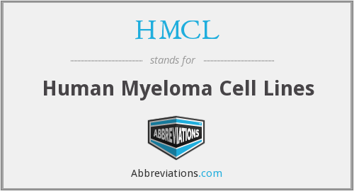 HMCL - Human Myeloma Cell Lines