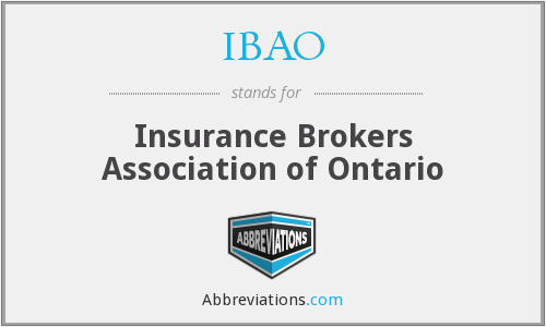 What does IBAO stand for?