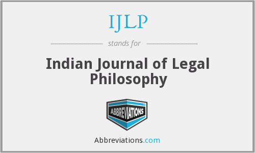 What does IJLP stand for?
