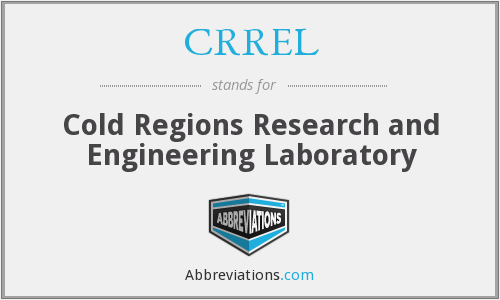 What does CRREL stand for?