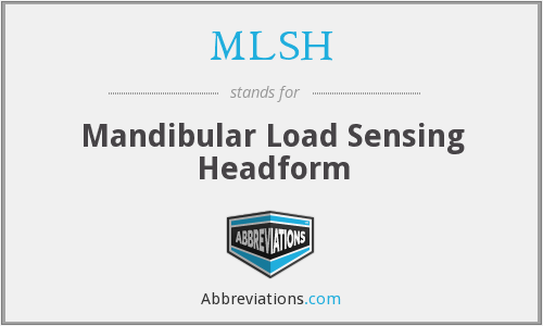 What does MLSH stand for?