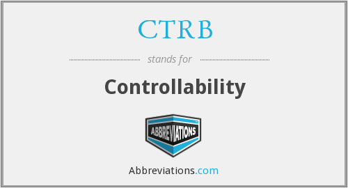 CTRB - Controllability