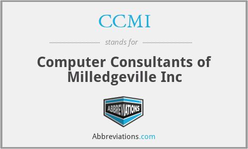 CCMI - Computer Consultants of Milledgeville Inc