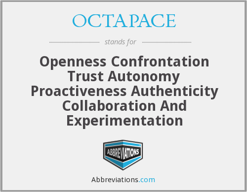 What does OCTAPACE stand for?