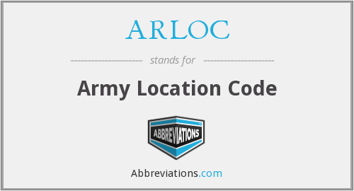 What does ARLOC stand for?