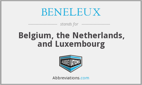 What does BENELEUX stand for?