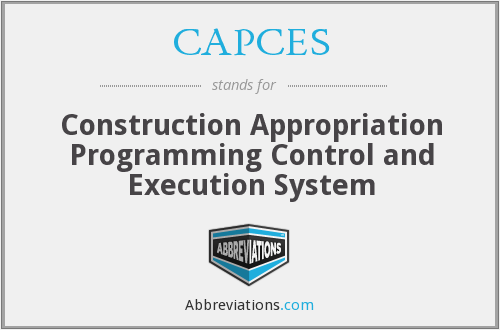 What does CAPCES stand for?