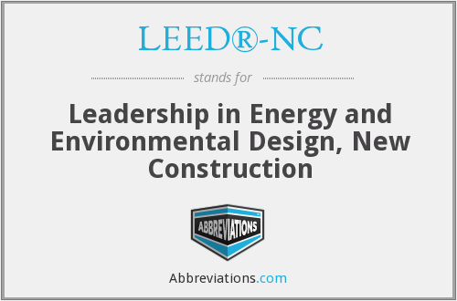 What does LEED®-NC stand for?