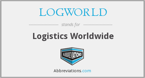 What does LOGWORLD stand for?