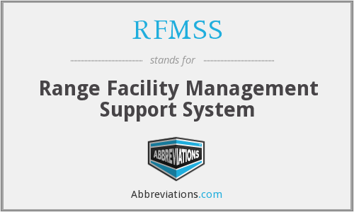 What does RFMSS stand for?
