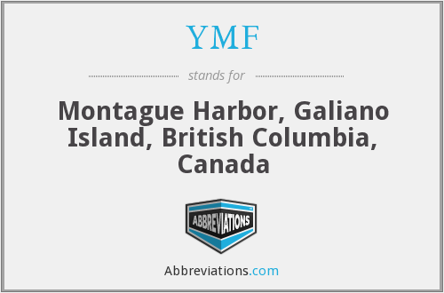 YMF - Montague Harbor, Galiano Island, British Columbia, Canada