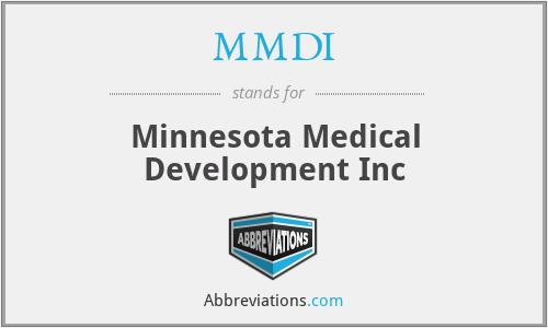 MMDI - Minnesota Medical Development Inc